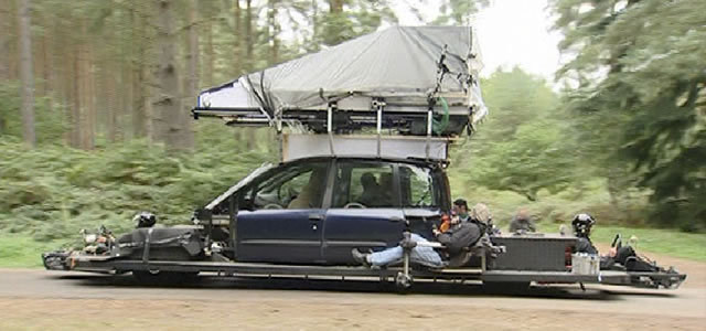 Camera car for Children of Men Behind the Scenes
