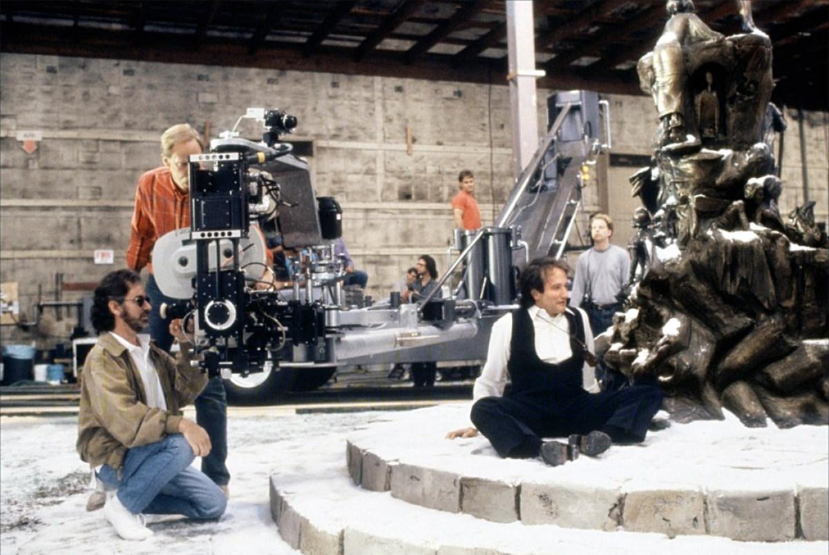 Spielberg & Williams filming Hook Behind the Scenes