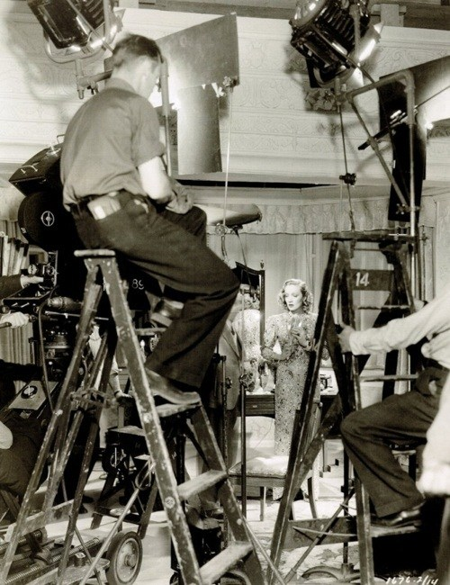 Ernst Lubitsch directs Behind the Scenes