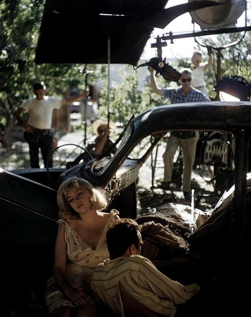 Marilyn Monroe & Montgomery Clift Behind the Scenes