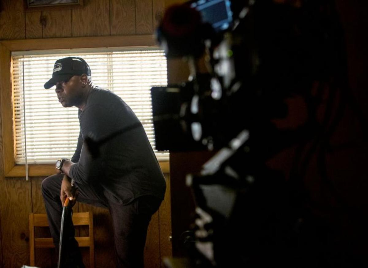 On the Set of The Equalizer Behind the Scenes