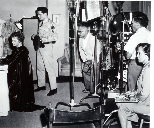 Elvis in G.I. Blues Behind the Scenes