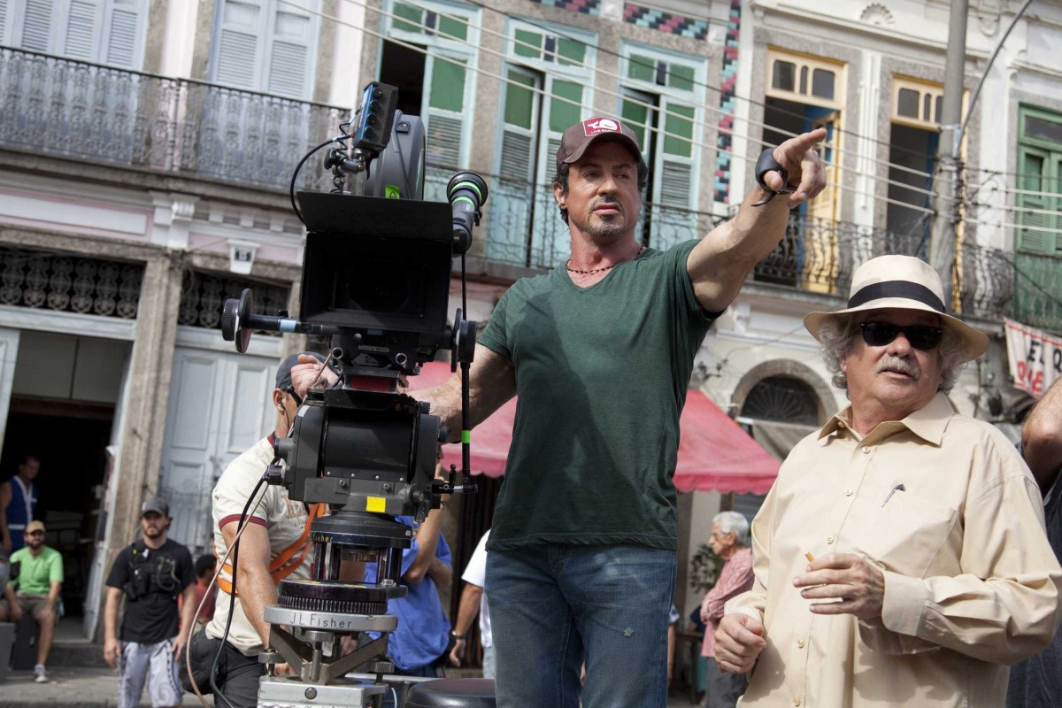 The Expendables Behind the Scenes Photos & Tech Specs