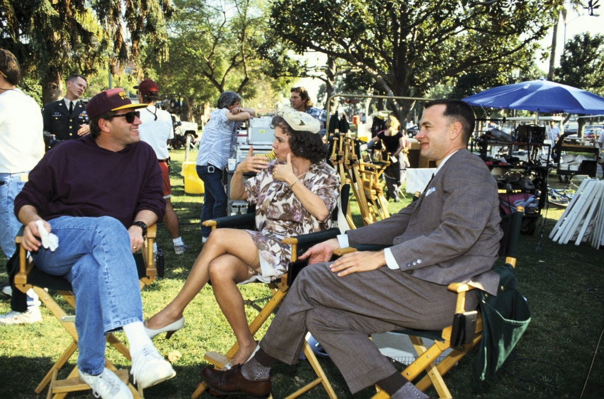 On the Set of Forrest Gump Behind the Scenes