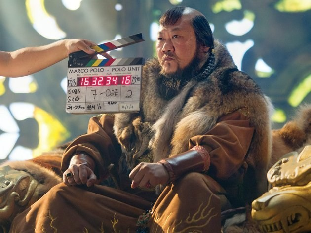 Marco Polo Behind the Scenes Photos & Tech Specs