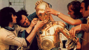 C-3PO - Behind the Scenes photos