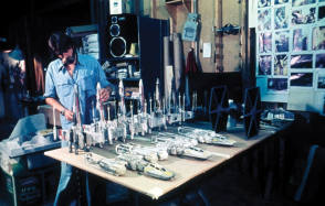 Star Wars Model Making - Behind the Scenes photos