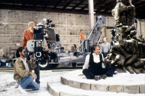 Spielberg & Williams filming Hook - Behind the Scenes photos