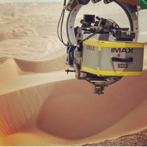 IMAX on Star Wars VII - Behind the Scenes photos