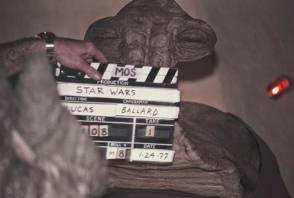 Star Wars slate - Behind the Scenes photos