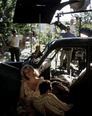 Marilyn Monroe & Montgomery Clift - Behind the Scenes photos