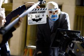 The Dark Knight scene 16W - Behind the Scenes photos