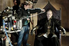 Uther in Focus - Behind the Scenes photos