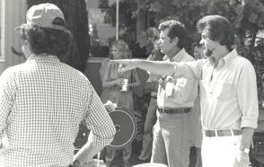 Jim Rockford On Set