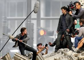 Transformers 3 - Behind the Scenes photos
