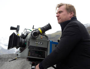 Nolan & Imax - Behind the Scenes photos