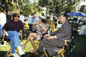 On the Set of Forrest Gump - Behind the Scenes photos