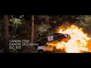 Need for Speed Lens & Camera Breakdown - Behind the Scenes photos