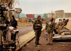 Full Metal Jacket: Modine & Kubrick - Behind the Scenes photos