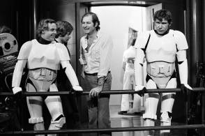Mark Hamill & Harrison Ford - Behind the Scenes photos