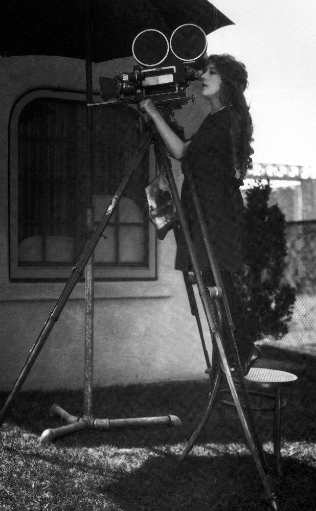 Mary Pickford Behind the Scenes