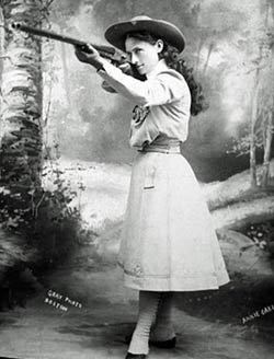 Annie Oakley Behind the Scenes
