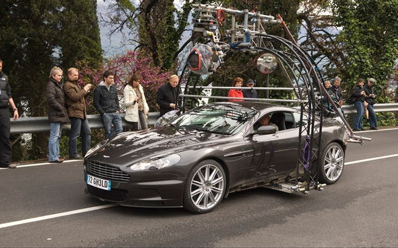 Aston Martin DBS Behind the Scenes