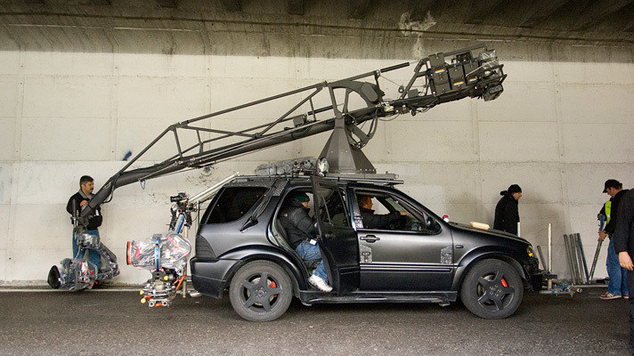 Quantum of Solace Behind the Scenes Photos & Tech Specs