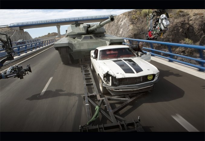 Furious 6 Behind the Scenes Photos & Tech Specs