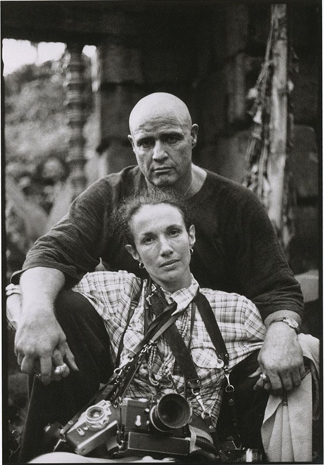 Marlon Brando and Mary Ellen Mark Behind the Scenes