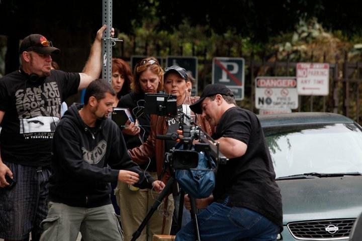 Nancy Criss Behind the Scenes