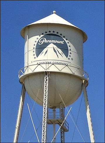 Paramount Water Tower Behind the Scenes