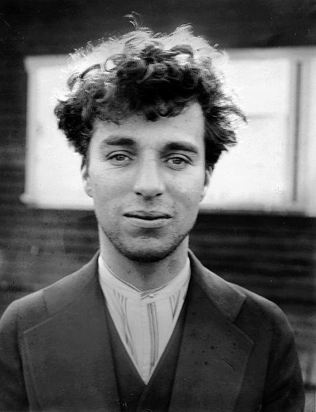 Charlie Chaplin circa 1916 Behind the Scenes