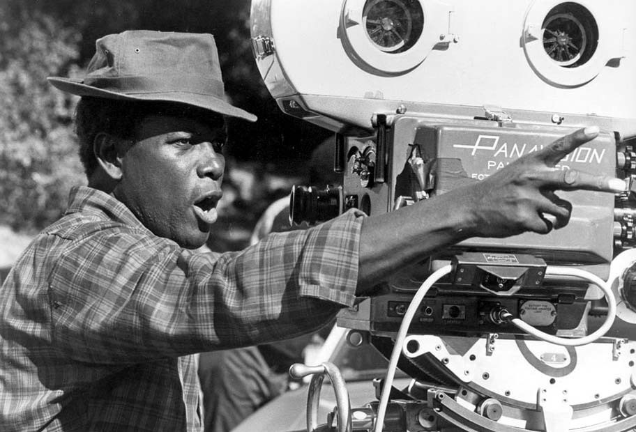 Sidney Poitier Behind the Scenes