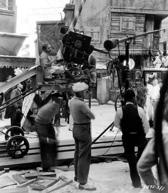 Josef von Sternberg Behind the Scenes