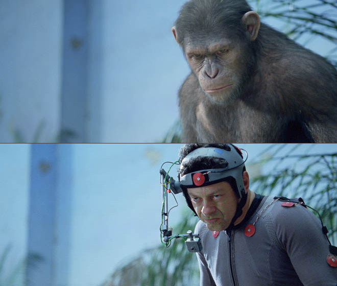 Rise of the Planet of the Apes Behind the Scenes Photos & Tech Specs