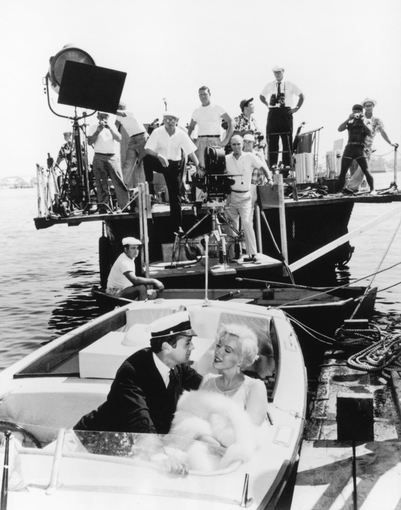 Boating Scene Behind the Scenes