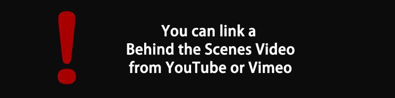 Link Video Behind the Scenes