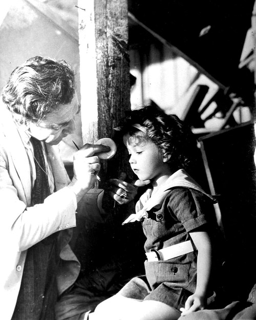 Shirley Temple Behind the Scenes