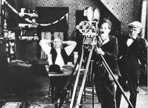 Chaplin with  Bell & Howell - Behind the Scenes photos