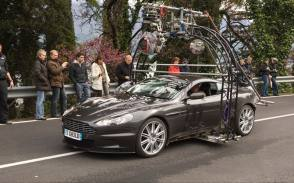 Aston Martin DBS - Behind the Scenes photos