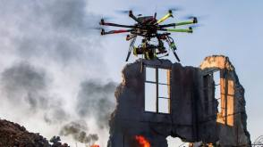 Drones approved by FAA for movie-making. - Behind the Scenes photos