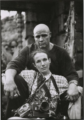 Marlon Brando and Mary Ellen Mark