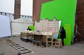Creating the Scene - Behind the Scenes photos