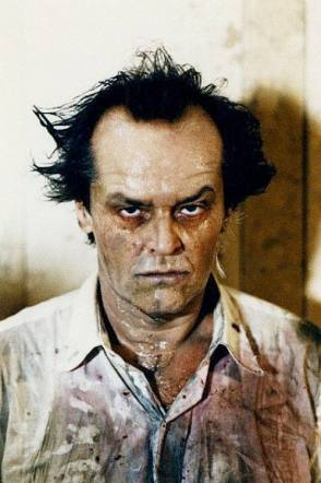 Jack Nicholson's makeup test - Behind the Scenes photos
