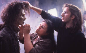 Hocus Pocus Makeup - Behind the Scenes photos
