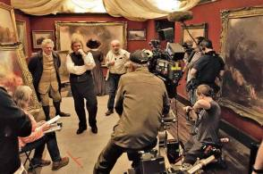 BTS Mr. Turner - Behind the Scenes photos