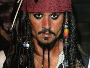 Johnny Depp – Pirate - Behind the Scenes photos