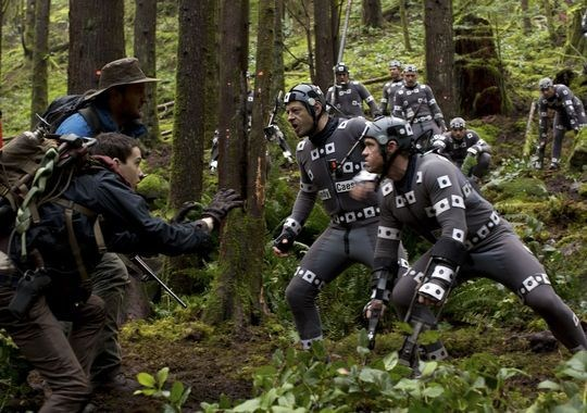 Dawn of the Planet of the Apes Behind the Scenes Photos & Tech Specs