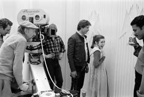 On the set of Star Wars